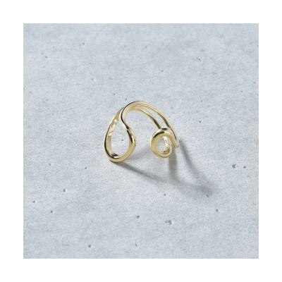 (SVEC/シュベック)リング 指輪 シルバー ゴールド SMR341-1/レディース ゴールド系1