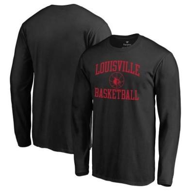 ユニセックス スポーツリーグ アメリカ大学スポーツ Louisville Cardinals Fanatics Branded In Bounds Long Sleeve T-Shirt - Black