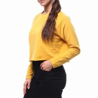 ファッションラボ スウェット・トレーナー l/s skimmer sweatshirt Mustard