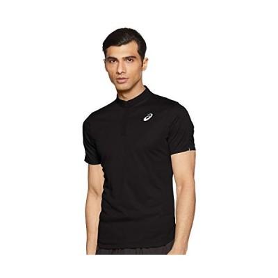 アシックス テニスウエア CLUB ポロシャツ 2041A040 メンズ パフォーマンスブラック EU Sサイズ
