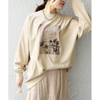 SHIPS for women / 【WEB限定】オーガニックコットンフォトTEE◆ WOMEN トップス > Tシャツ/カットソー
