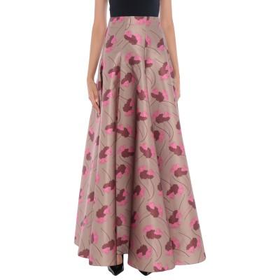 ロシャス ROCHAS ロングスカート サンド 40 ポリエステル 88% / シルク 12% ロングスカート