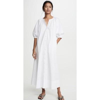 スタウド STAUD レディース ワンピース ワンピース・ドレス Vincent Dress White