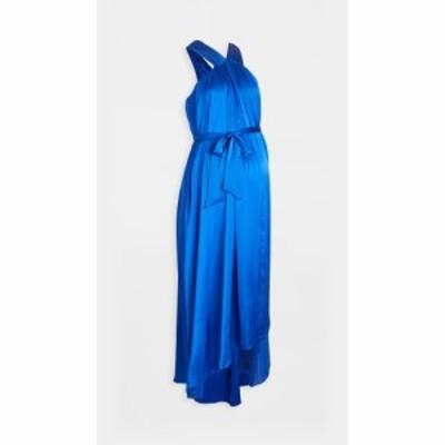 ハッチ HATCH レディース パーティードレス ワンピース・ドレス The Fete Gown Cobalt