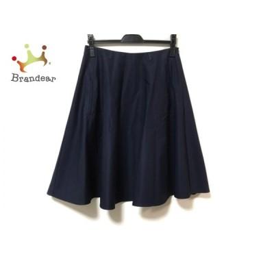ソフィードール SOFIE D'HOORE スカート サイズ36 S レディース 美品 - ネイビー ひざ丈  値下げ 20210218