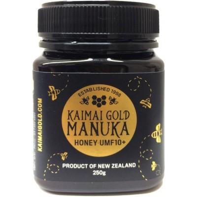 マヌカハニー UMF 10+ MGO 263 250g UMF協会認定 非加熱天然はちみつ カイマイゴールド KAIMAI GOLD Manuka Honey
