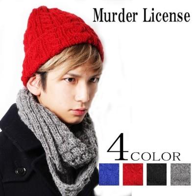 MURDER LICENSE/マーダーライセンス ハンドウールニットワッチ