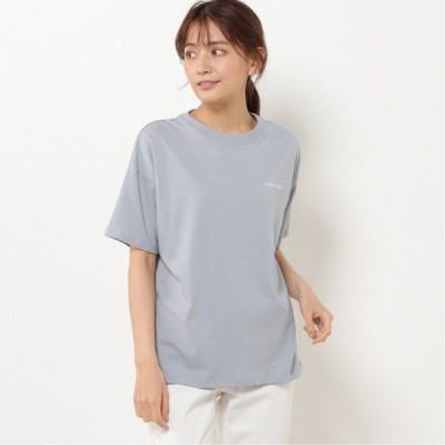 コンバース 天竺カラフルシューズバックプリントTシャツ ライトブルー M L LL 3L