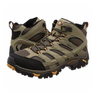 メレル モアブ2ミッドゴアテックスワイドワイズ mmoab2midgtxwid メンズ/男性用 MOAB2 GORE-TEX WIDE WIDTH 靴