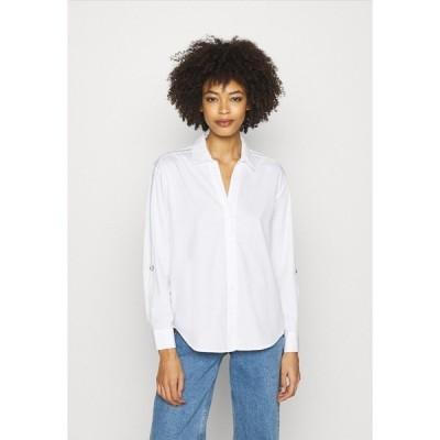 オーパス シャツ レディース トップス FULINE SPORTY - Button-down blouse - white