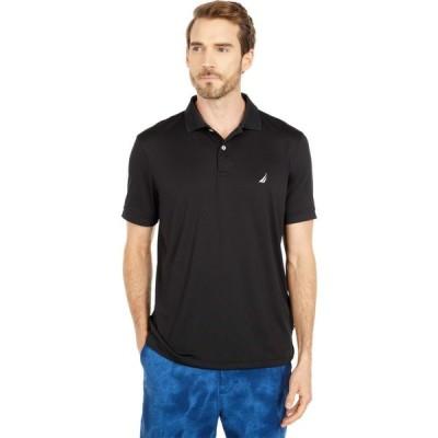 ノーティカ Nautica メンズ ポロシャツ トップス Solid Tech Polo Black