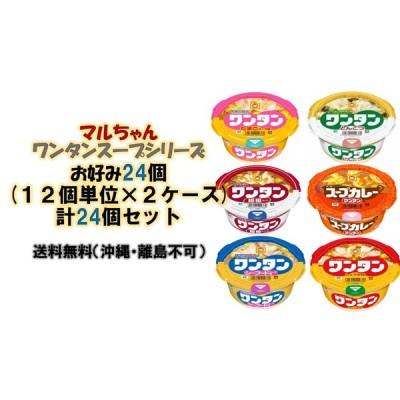 東洋水産 ミニワンタンシリーズお好み24個(12個単位×2ケース) 送料無料(沖縄、離島不可)