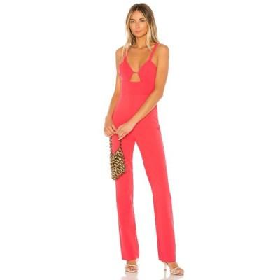 エヌビーディー NBD レディース オールインワン ジャンプスーツ ワンピース・ドレス Citrine Jumpsuit Coral Pink