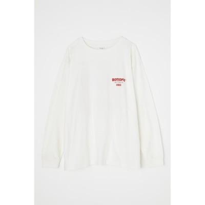 【マウジー/MOUSSY】 BOTTOM'S UP LS Tシャツ