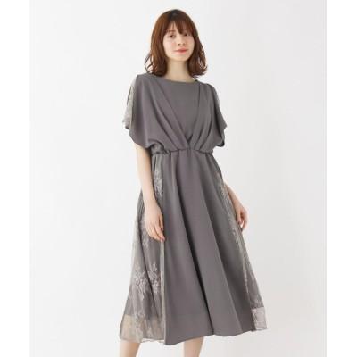 grove(グローブ) サイドレースドレープドレス