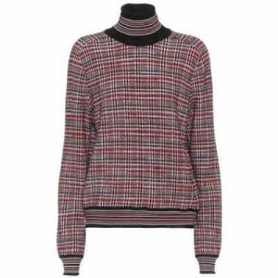 ミッソーニ ニット・セーター Wool-blend turtleneck sweater red