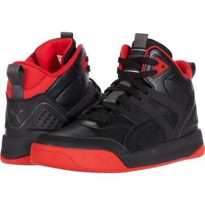 プーマ PUMA メンズ スニーカー シューズ・靴 Backcourt Mid Puma Black/Puma Black/High Risk Red/Dark Shadow/Puma Silver
