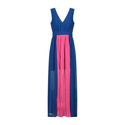 ジジル JIJIL ロングワンピース&ドレス ブライトブルー 42 ポリエステル 100% ロングワンピース&ドレス
