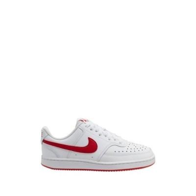 ナイキ レディース スニーカー シューズ Court Vision Low Sneaker 101 WHITE/UNVRED