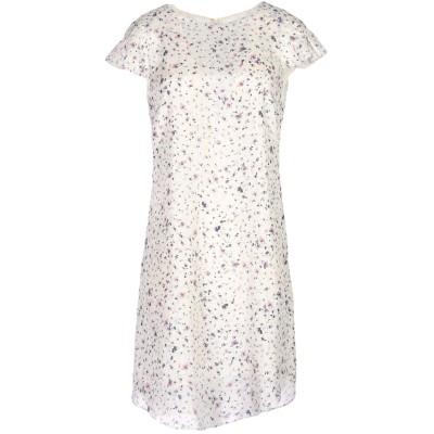 エンポリオ アルマーニ EMPORIO ARMANI ミニワンピース&ドレス アイボリー 40 シルク 100% ミニワンピース&ドレス