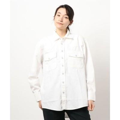 シャツ ブラウス ◇【MYTHINKS】ビッグウエスタンシャツ WOMEN
