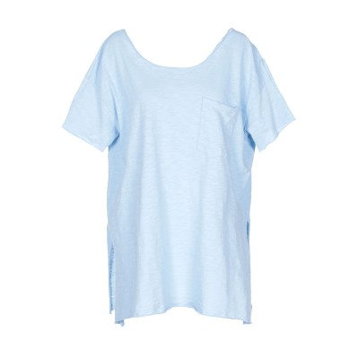 アメリカン ヴィンテージ AMERICAN VINTAGE T シャツ スカイブルー XS/S コットン 100% T シャツ