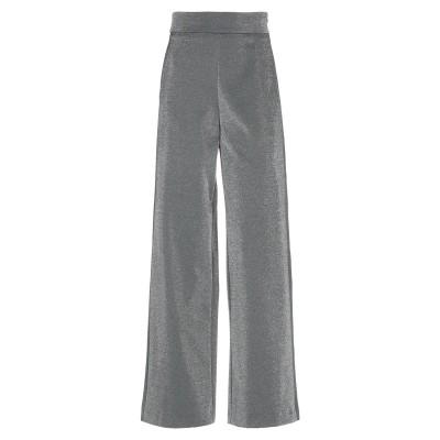 ROSÉ A POIS パンツ シルバー 40 ポリエステル 74% / 金属繊維 20% / ポリウレタン 6% パンツ