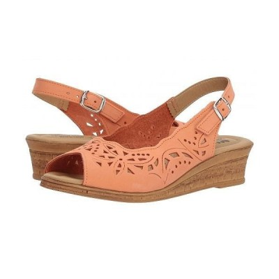 Spring Step スプリングステップ レディース 女性用 シューズ 靴 ヒール Orella - Peach