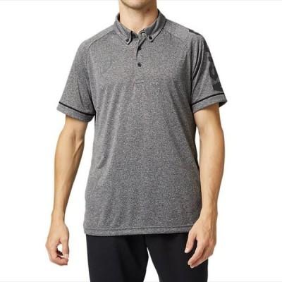 [asics]アシックス CAボタンダウンポロシャツ (2031B234)(002) パフォーマンスブラックヘザー[取寄商品]