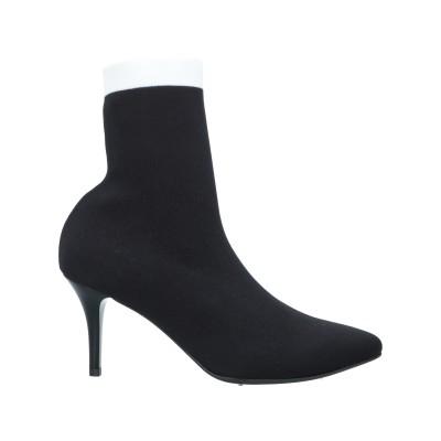 VICOLO ショートブーツ ブラック 38 紡績繊維 ショートブーツ