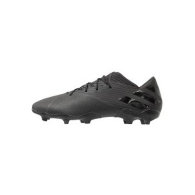 アディダス メンズ ブーツ&レインブーツ シューズ NEMEZIZ 19.2 FG - Moulded stud football boots - core black/utility black core bl