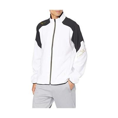 [Mizuno] トレーニングウェア MC-LINE ムーブクロスジャケット スタンダード 吸汗速乾 ストレッチ 32MC0130 ホワイト?