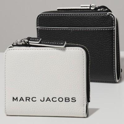 MARC JACOBS マークジェイコブス M0017061 レザー 二つ折り財布 ミニ財布 164/COTTON-MULTI レディース
