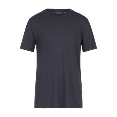 ニール・バレット NEIL BARRETT T シャツ ダークブルー S コットン 100% T シャツ