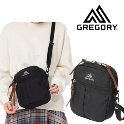 GREGORY グレゴリー クイックポケット L バッグ ショルダーバッグ ブラック 黒 ナイロン メンズ バッグ