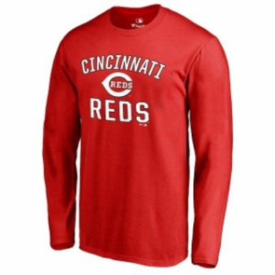 Fanatics Branded ファナティクス ブランド スポーツ用品  Cincinnati Reds Red Victory Arch Long Sleeve T-Shirt