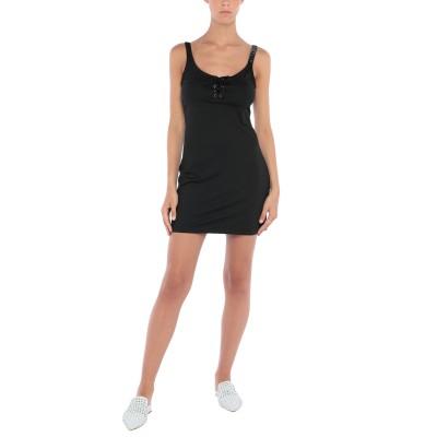 モスキーノ MOSCHINO ビーチドレス ブラック XS ナイロン 91% / ポリウレタン 9% ビーチドレス