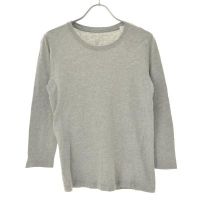 無印良品 / ムジルシリョウヒン 霜降り 七分袖Tシャツ