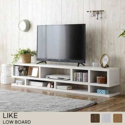テレビ台 ローボード TV台 テレビラック 収納 棚 キャビネット サイドボード 180cm幅 36cm高 テレビ重量40kgまで