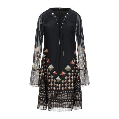 MARCIANO ミニワンピース&ドレス ブラック 38 100% ポリエステル ミニワンピース&ドレス