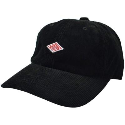 [ダントン] DANTON コーデュロイ ロゴ キャップ ・JD-7144LEV free/black