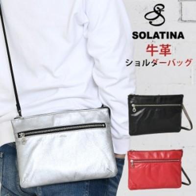 [SALE] メンズ ショルダーバッグ ミニバッグ バックポケット付き SOLATINA(ソラチナ)  SJP-00814