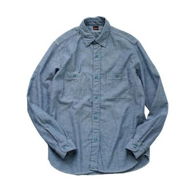 シャツ ブラウス 【MADE IN JAPAN】6.0oz シャンブレーワークシャツ