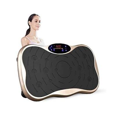 振動マシン フィットネスマシン 振動ステッパー スマート 調節99段階 Bluetooth接続 音楽プレイヤー機能付 全身振動マシン ゴムバンド付属