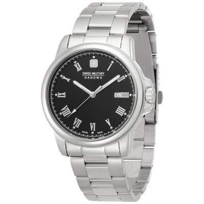 スイスミリタリー腕時計ローマン(Roman)ml364ブラック 正規輸入品