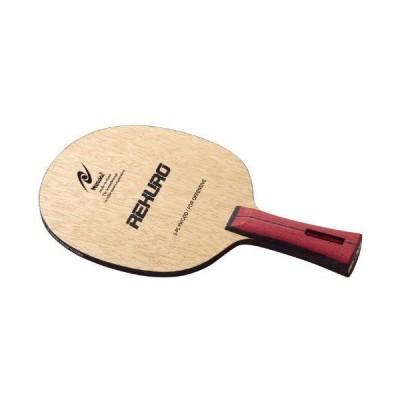 ニッタク(Nittaku) 卓球 ラケット レクロ シェークハンド 攻撃用 5枚合板 フレア NE-6119 ブラウン