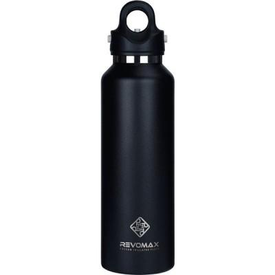 真空断熱ボトル REVOMAX サーモボトル 592ml オニキスブラック