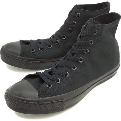 コンバース キャンバス オールスター ハイカット CONVERSE CANVAS ALL STAR HI ブラックモノクローム 靴 [32060187]【日本正規品】