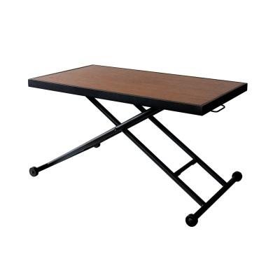 コンパクトに収納できる昇降テーブル