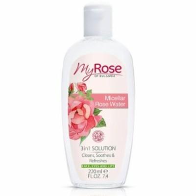 【送料無料】 マイローズ ミセラローズ ウォーター 220ml 化粧水 ブルガリア製 MY ROSE